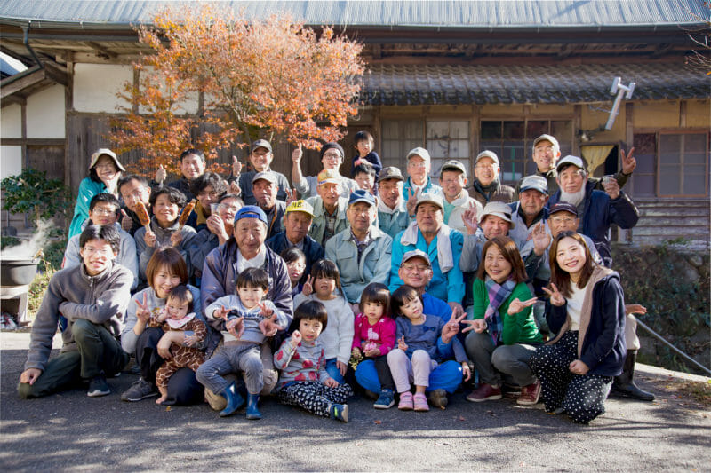 2019.11.30 もみじまつり参加者の集合写真