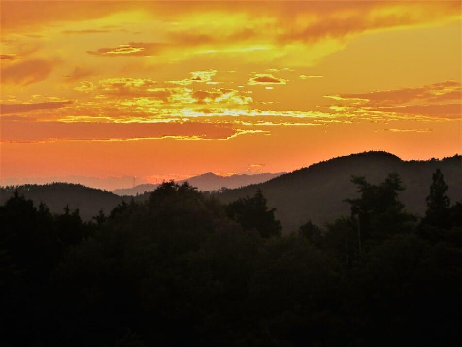 風神社からの夕景