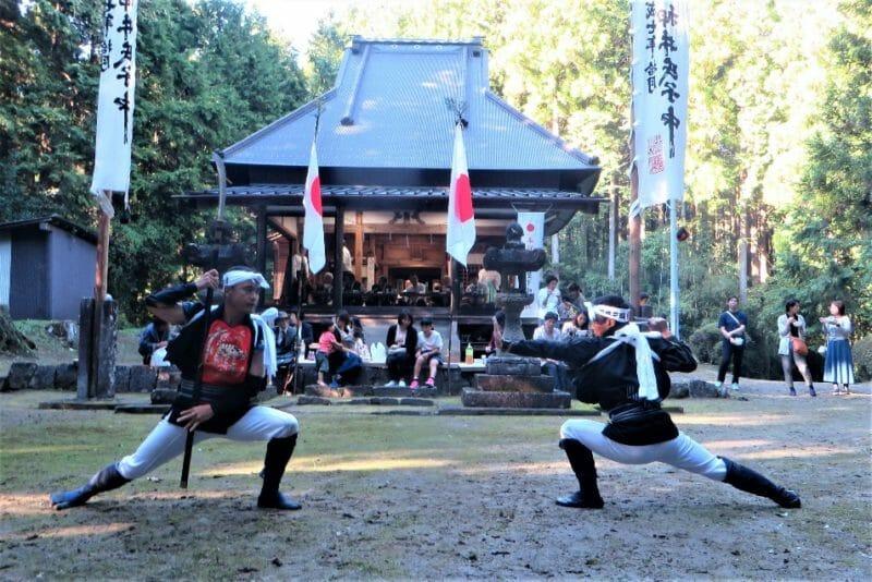 2019.10.13 押井神明神社例大祭・棒の手の様子